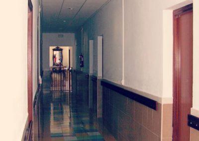 Pasillo entrada habitaciones
