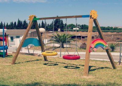 Parque columpio