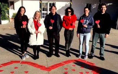 Betsaida celebra el día de San Valentín