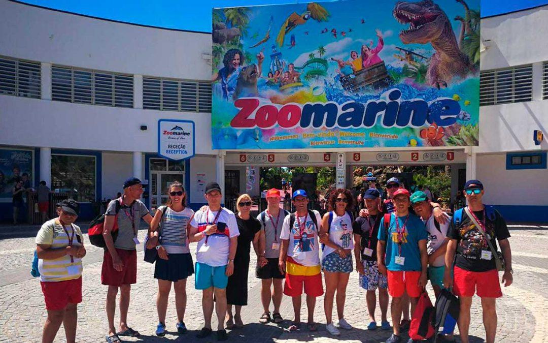 La Residencia 'Betsaida' clausuró su calendario escolar con una excursión al parque acuático 'Zoomarine', en Albufeira, Portugal