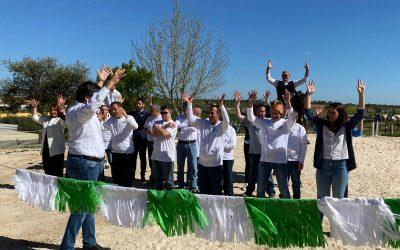 El Complejo Residencial 'Betsaida' conmemoró el Día de Andalucía con un bello espectáculo ecuestre y musical